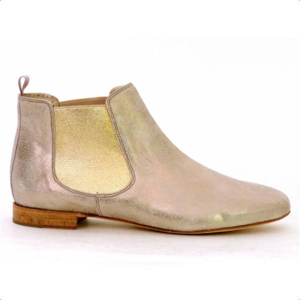 pertini metallic chelsea boots spanish fashion spanish shop online spain your fingertips. Black Bedroom Furniture Sets. Home Design Ideas