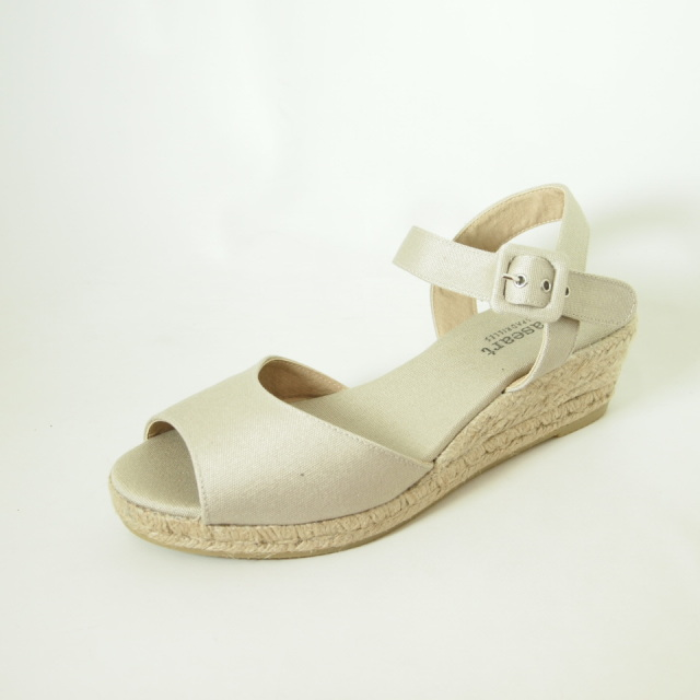 Paseart Low Wedge Espadrille Spanish Shop Online